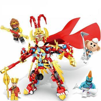 2020 New Goku Sun Wukong Monkeykid Monkey King Warrior Mech Compatible Lepining Building Blocks Toys For Children Gift