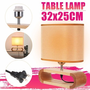 Nordic Wood Base Table Lamp Cl