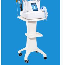 Desktop beauty equipment cart small bubble rack vanadium titanium bracket base tool car salon dedicated