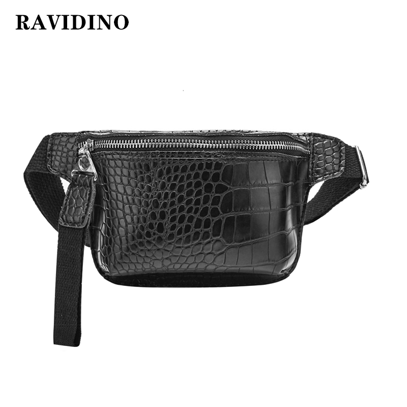 Waist Bag For Women Chest Bag Pu Leather Fanny Pack Phone Pouch Chest Packs Ladies Wide Strap Belt Bag Female Crossbody Bag