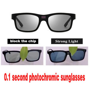 Polarized Sunglasses Oculos Driving-Goggles Photochromic Discoloration-Eyewear Men UV400