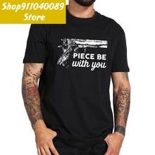 Pieza con T camisa divertido 2nd pistola de enmienda de los Derechos 100% Camiseta de algodón camisa de manga corta nueva moda Tops