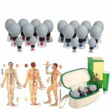 Acupuncture Cupping-Set Suction-Cup Relief-Pain-Tools Moxibustion Vacuum 12pcs/8pcs