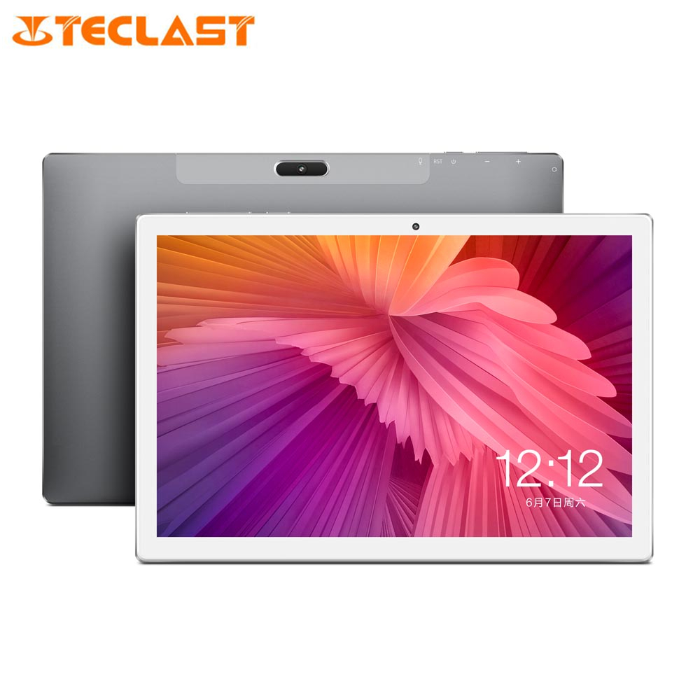 Teclast Tablet PC 2560x1600 WIFI 128g-Rom Type-C Helio X27 Android 8.0 4G Deca Core Network