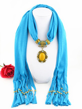 Rhinestone rose tassel polyester scarf fork 12 jewelry scarf exquisite beeswax lace oval pendant scarf rose bush pattern gossamer scarf