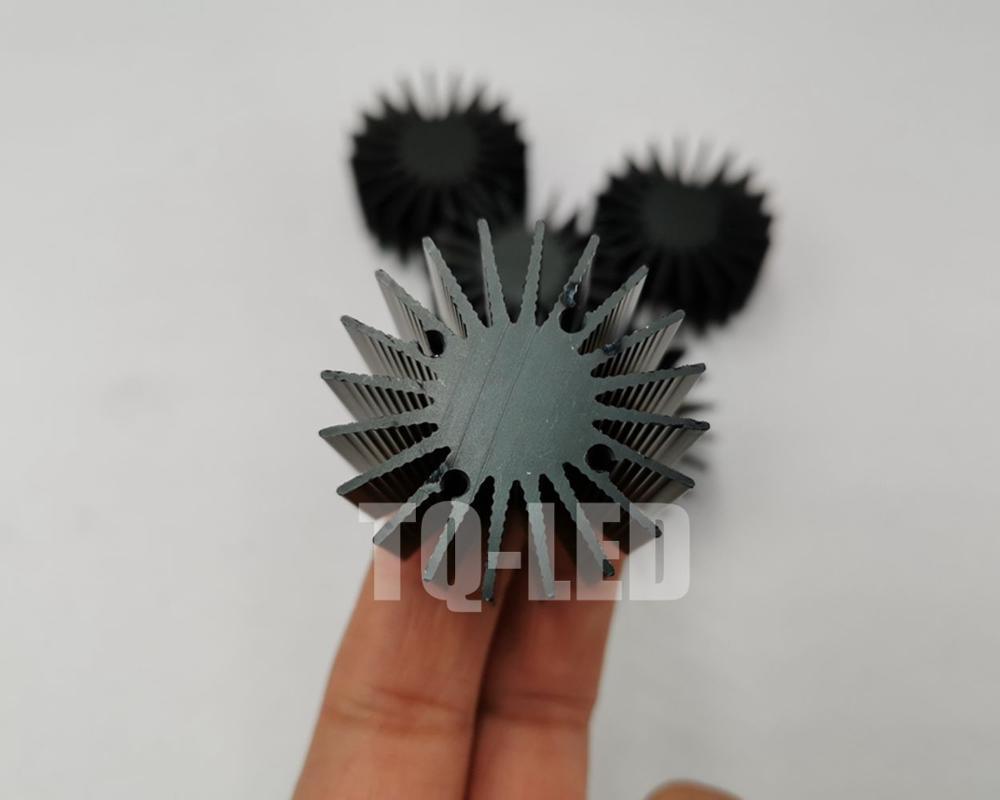 Diameter36x22mm Height 1W 3W High Power Led Radiator Aluminum Heatsink