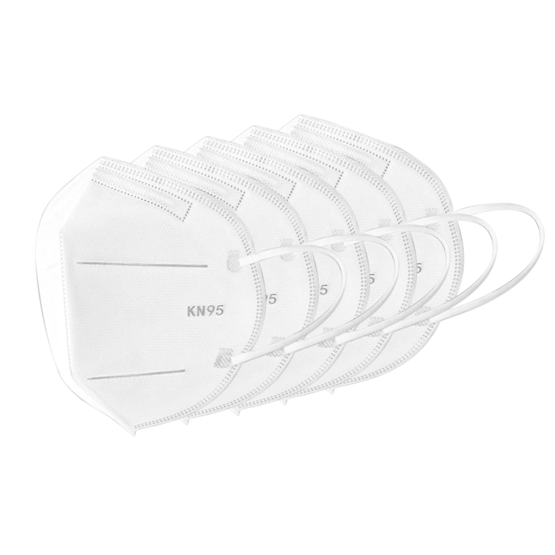 5 PCS  Face Mask Passed Test Anti-foaming Splash Proof PM2.5 Dust Anti Fog Filter Breathing Protective Mask