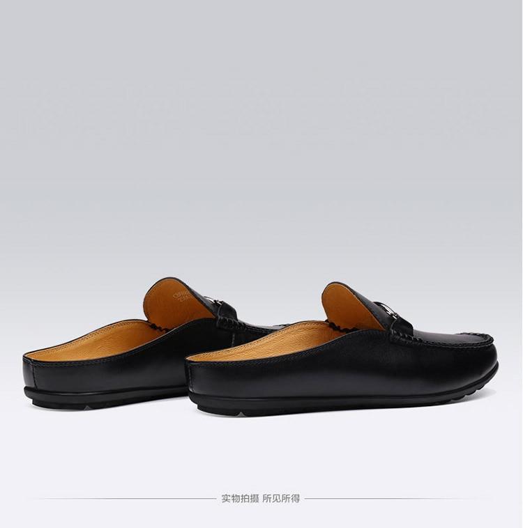 Moda verão sapatos masculinos do vintage italiano