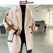 Jackets LAPPSTER Overcoat Streetwear Harajuku Japanese Warm Korean Men Winter Fashion