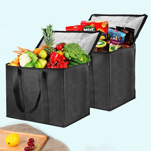 Portable Lunch Cooler Bag Car Fresh Keeping Ice Pack Picnic Large Cooler Bags Food Drink Carrier Insulated Bags Delivery Bag