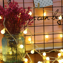 20LEDs Small Round Bulbs String Light Party Birthday Festival Decor TN88