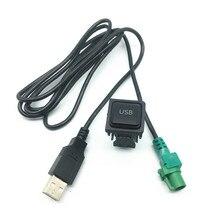 רכב usb ממשק CD נגן רדיו USB מתאם כבל חיווט לרתום עבור פולקסווגן ג טה גולף 5 mk5 6 mk6 פולו tiguan עבור אאודי לסקודה
