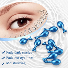Sturgeon Seed Eye Essence Ampoule Capsule Skin Care Anti-Wrinkle Remover Dark Circles Eye Serum Eye Patches Fine Lines Eye Cream