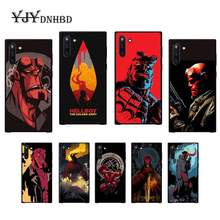 Superhero Hellboy Mobile Phone Cover Case untuk Vivo U3x Y11 Y12 Y19 Y81 Y91C V9 V17 V15 Pro Tritone(China)
