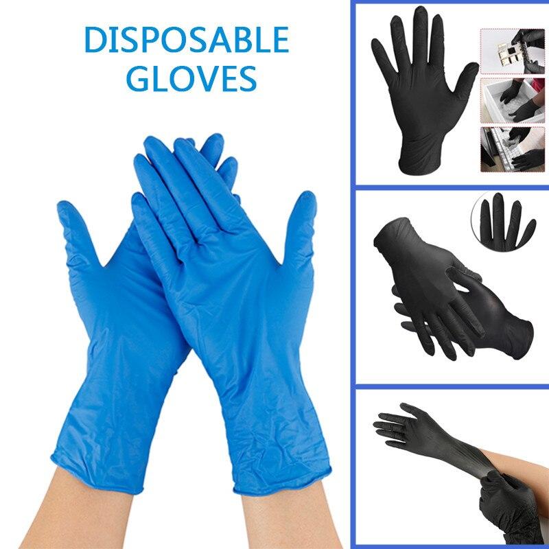 Children 20pcs Nitrile Gloves Rip Resistant Gloves Safety Gloves