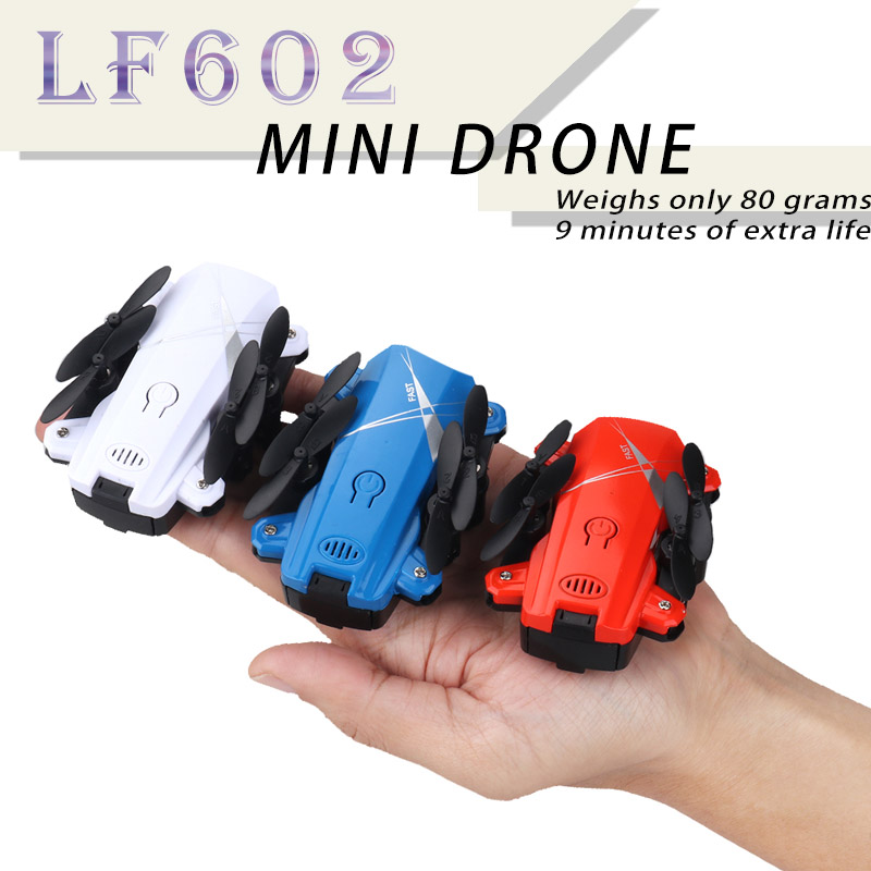 New LF602 Mini Drone Foldable With Wifi Hd Camera Rc Quadrocopter Helicopter Fpv Drones Quadcopter Remote Control Toys Kid