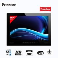 Freecan 27 inch widescreen waterproof Mirror TV , Premium Freeview Bathroom LED TV