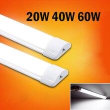 120cm świetlówka Led T5 Tube 220V 60cm 2ft 4ft 1200mm T8 kinkiet 20W 40W 60W ciepły biały zimny biały tri proof Light