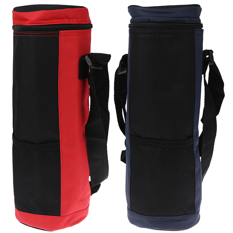Water Bottle Cooler Tote Bag Universal Water Bottle Pouch High Capacity Insulated Cooler Bag Outdoor Traveling Camping Hiking