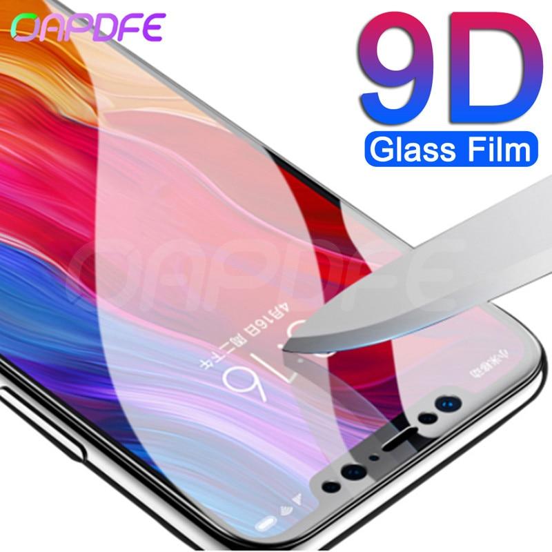 9D Protective Glass For Xiaomi Mi 8 9 SE A1 A2 Lite Screen Protector Film For Mi Pocophone F1 Max 3 2 Note 3 Tempered Glass