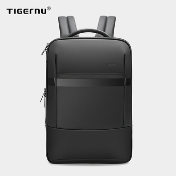 Tigernu Anti theft 15.6inch Laptop Backpack Men Fashion TPU Waterproof Travel Backpack Male School Backpack For Men Luggage Bags