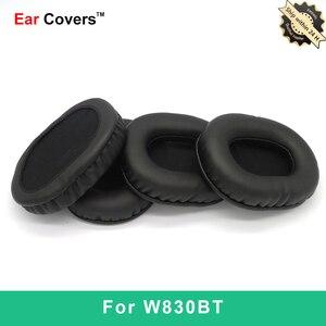 Ear Pads For Edifier W830BT Headphone Earpads Replacement Headset Ear Pad PU Leather Sponge Foam
