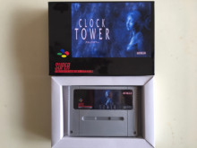 16Bit Games ** CLOCK TOWER ( PAL EUR Version!! box+cartridge!! Spanish Language!! )