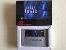 16Bit Spiele ** UHR TURM (PAL EUR Version!! Box + patrone!! Spanisch Sprache!!)