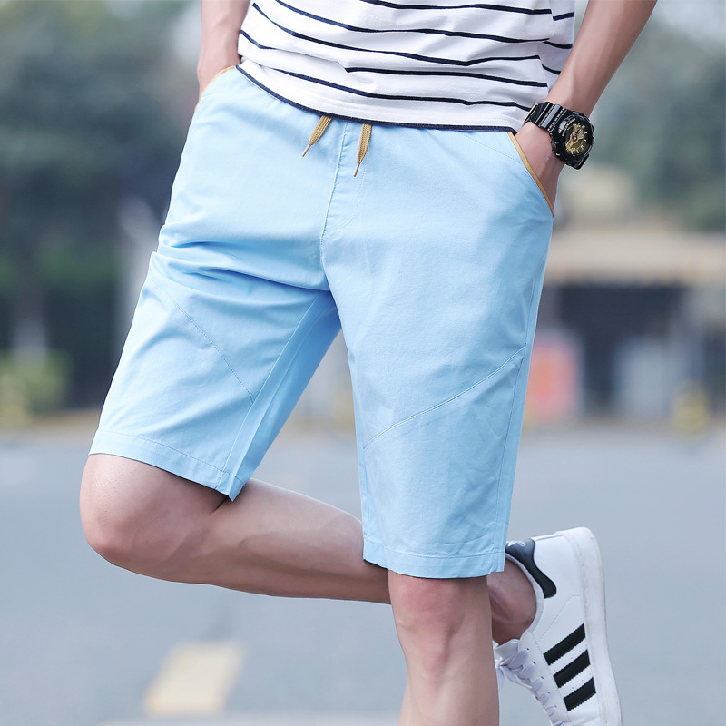 Casual Shorts Casual Male Fifth Pants Summer Pure Cotton Summer Breeches Men's Korean-style Trend Of Fashion 5 In Pants