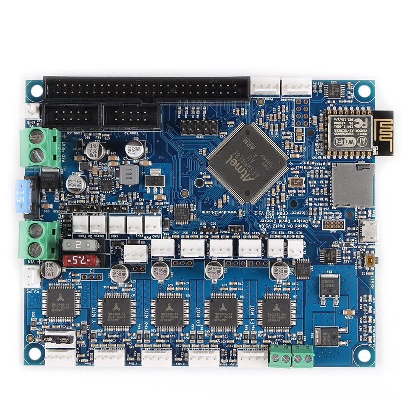 Duet 2 Wifi Control Board 32 Bit Geklont Duetwifi 5 zoll PanelDue Touch-Bildschirm Expansion Board CNC zu SKR V 1,3 3D Drucker Teile