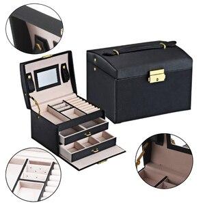 New Jewelry Box Large Capacity
