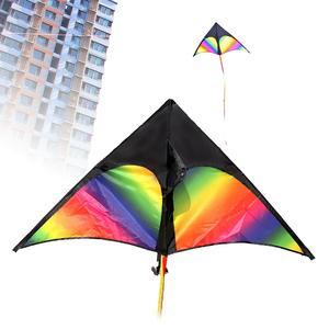3D красочный воздушный змей в форме стрелы, одна линия, летающий змей, уличная забавная игра, игрушка, спортивная детская игрушка, легко летае...