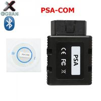 High quality For Citroen For Peugeot PSACOM PSA COM Bluetooth Diagnostic Tool PSA COM BT OBD 2 Support Multi Languages