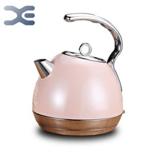 220V Electric Kettle Stainless Steel Auto Shut-Off 1.8L 1800W  Boil Dry Protection CCC&RoHS Certified BPA-Free Electric Teapot electric kettle 304 stainless steel large capacity open kettles anti dry protection safety auto off function