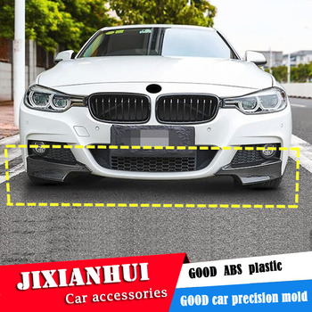 For F30 F35 Body kit spoiler 2012-2017 For BMW 3 series 320i ABS Rear lip rear spoiler front Bumper Diffuser Bumpers Protector image