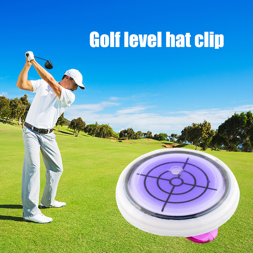 Putting Marker Golf Hat Clip Ball Level Slope Colorful Helper