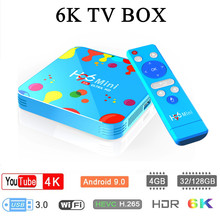 H96 Mini Tv Box Android 9.0 4gb Ram 128gb Rom 6k Boxes Allwinner H6 Quad Core Hevc H.265 Wifi Google Player Youtube Set-top Box vmade newest original v96mini android 9 0 os smart tv box allwinner h6 4gb 32gb h 265 hevc support youtube facebook media player
