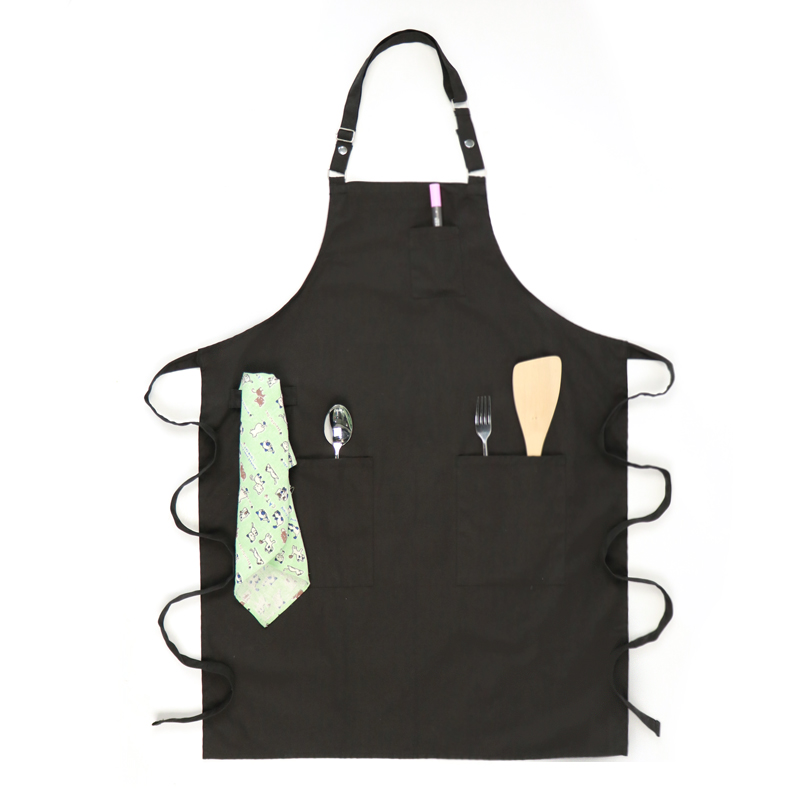 Eco-friendly Canvas Tool Milk Tea Chef Coffee Shop Simple Style Protect Overalls Multiple Colors