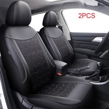 Car Seat Cover Front Seat for Skoda Felicia Fabia 1 3 Octavia 1 2 3 A5 A7 2017 Tour Rapid Spaceback 2019 Superb 1 2 3 2013 Yeti
