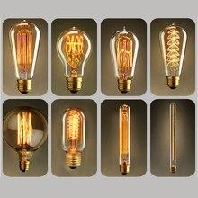 Light-Bulb Edison-Lamp Retro-Light Dimmable Incandescent Vintage E27 40w 220V