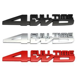 Image 1 - 4WD Full Time รถป้ายสติกเกอร์สำหรับ Toyota Celica GT4 Hummer Land Cruiser Volkswagen Phaeton Passat Ford Focus RS ST cosworth