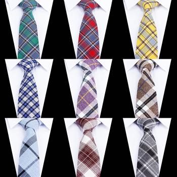 Kobiety krawat klasyczny męski krawat w kratkę Casual słodki tęczowy garnitur muszki krawaty męskie bawełniane obcisłe wąskie krawaty kolorowe krawaty tanie i dobre opinie KROAESHA WOMEN Moda COTTON CN (pochodzenie) Dla dorosłych Szyi krawat Jeden rozmiar Plaid