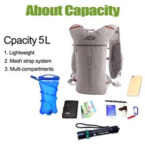 Рюкзак для бега, 5 л, с жилетом для гидратации, 500 мл