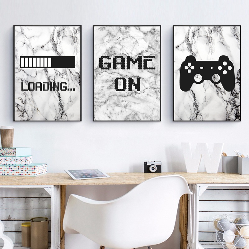 Gaming Wall Art Painting Decor