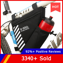 Bike Triangle Top-Tube-Bag Pocket Bicycle Water-Bottle B-SOUL