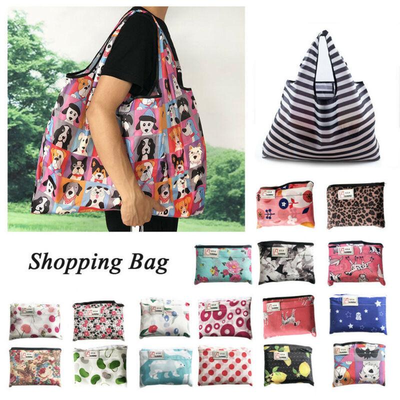 NoEnName-Null Hot Waterproof Folding Shoulder Handbag Shopper Reuse Tote Beach Shopping Travel Bag
