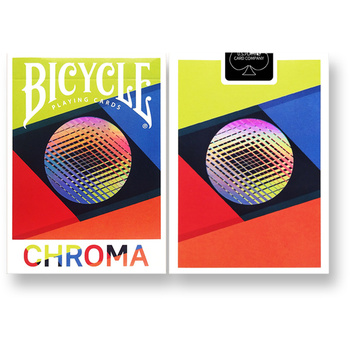Bicycle Chroma Playing Cards Deck Cardistry Poker USPCC Limited Edition Magic Card Games Magic Props Magic Tricks for Magician tally ho playing cards magic deck magic tricks cardistry deck