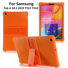 Case for Samsung Galaxy Tab A 10 1 SM-T510 T515 Tablet Case Stand Cover for Samsung Galaxy Tab A 10 1 2019 Funda Capa Case cheap Kazerwa Protective Shell Skin Case for Samsung Galaxy Tab A 10 1 2019 Solid 10inch Silicon Fashion Waterproof Drop resistance
