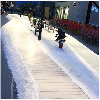 500gram sztuczny śnieg natychmiastowy śnieg materiał poliakrylan sodu biały śnieg na ślub fałszywy magiczny błyskawiczny śnieg tanie i dobre opinie Proszku śniegu FM020 Sodium polyacrylate Artificial Snow 9003-04-7 208-750-2 99 5 500 gram bag 5000KG white Granular