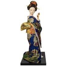 Японские милые статуэтки гейши куклы с красивым кимоно Новый